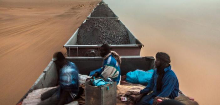 George Popescu: In spinarea trenului saharian