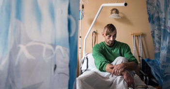 "© Ioana Moldovan: ""PTSD - Noul front al razboiului din Ucraina"""