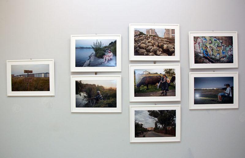 Imagine din expozitie (Petrut Calinescu)