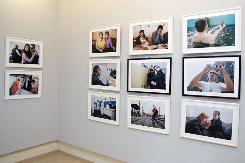Imagine din expozitie (Ciprian Hord)