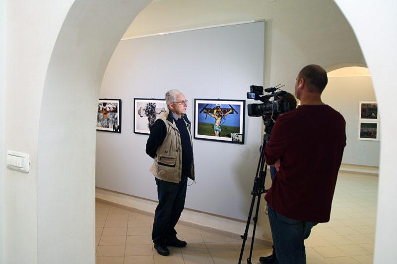 Vasile Dorolti intervievat de Televiziunea Romana