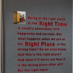 Robert Rutöd: Right Time Right Place (coperta)