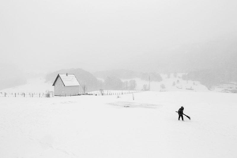 © Frederik Buyckx (Belgia): Whiteout, (Professional, Landscape, SWPA 2017)