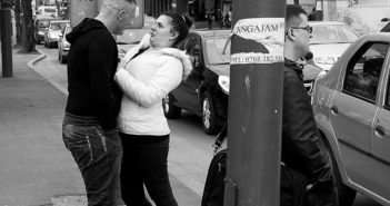 © Oliver Merce: Confrontation, Timisoara, 2014