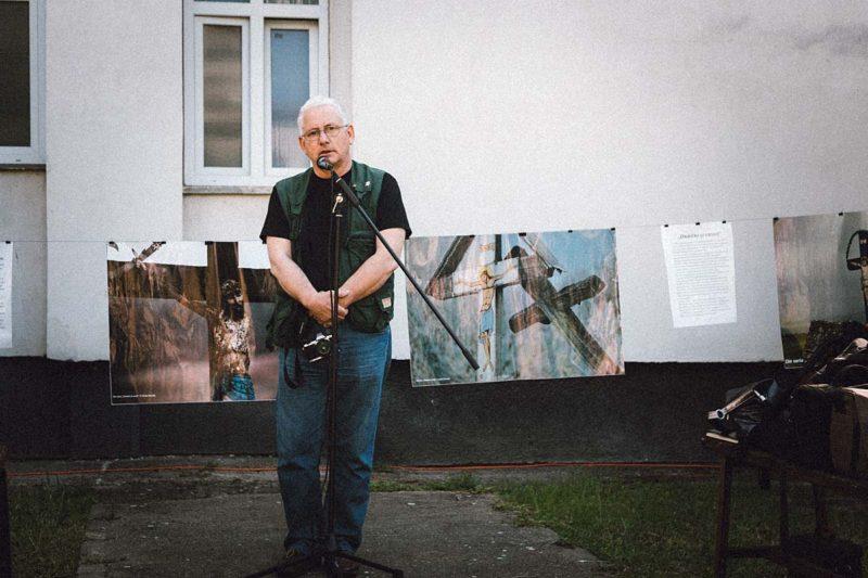 """Vasile Dorolti la """"Onisifor Ghibu"""". © Dan Chis"""