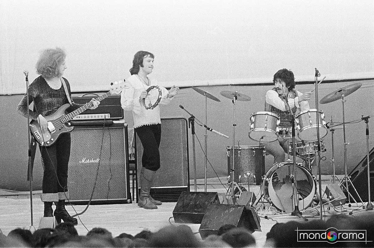 © Victor Boldar: Phoenix - Ultimul concert. Josef Kappl, Mircea Baniciu si Ovidiu Lipan Tandarica, Craiova, 20 mai, 1977