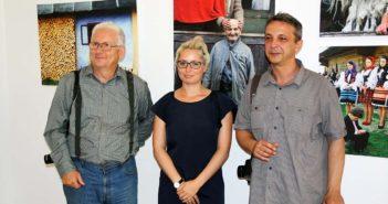 Vasile Dorolti, Mihaela Panainte (regizor) si Silviu Ghetie.