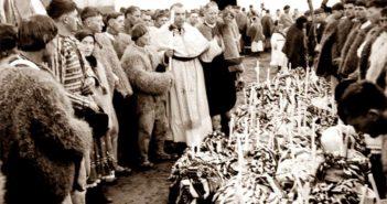 © Ionita G. Andron: Sfintirea Pastilor, Racsa, 1940, Colectia Muzeului Tarii Oasului.