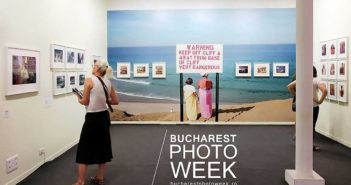 Afisul festivalului Bucharest Photo Week
