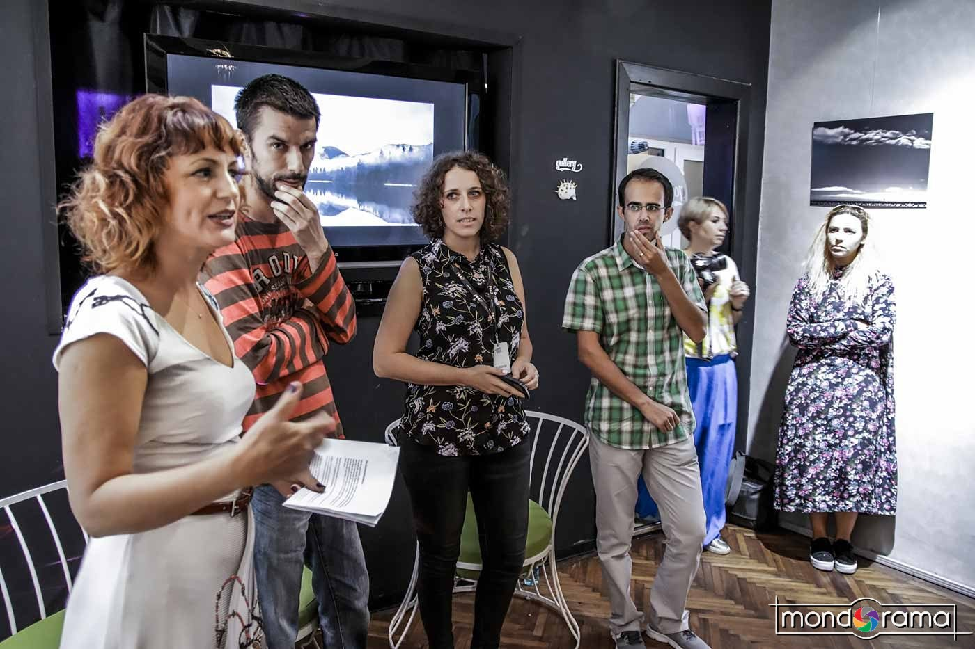 © Cristian Crisbasan. O parte din echipa BPW 2017, de la stanga la dreapta: Mirela Momanu (fondator), Cristian Bassa (co-organizator), Cristina Tinta (fondator), Andrei Baciu (invitat).