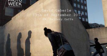 Afisul expozitiei lui David Gaberle (Cehia)