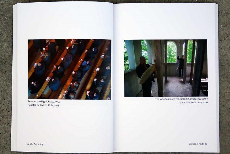 "Remus Țiplea: ""Din Oas in Pasti"", pagini interioare."