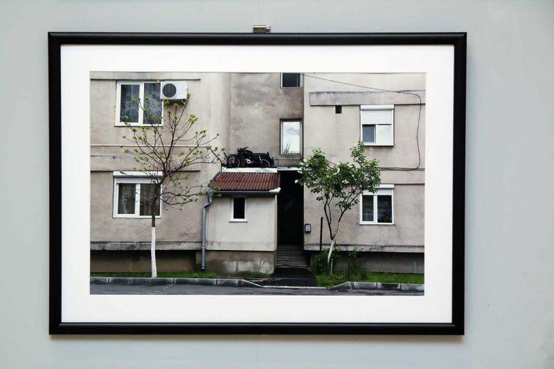 Alex Mara, una dintre imaginile din expozitie.