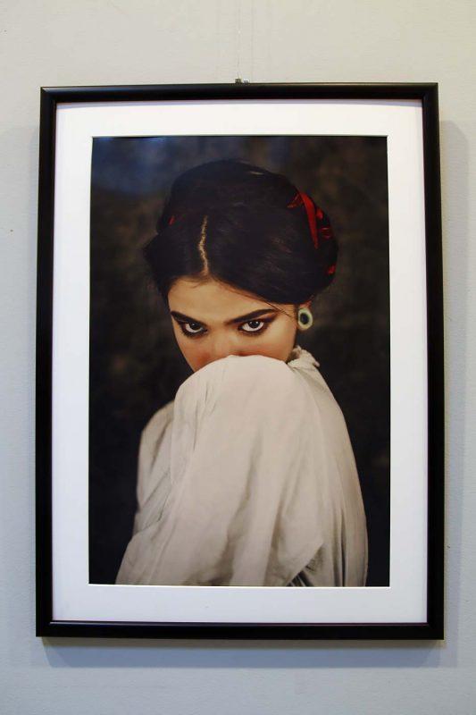 Cristina Venedict, una dintre imaginile expuse.