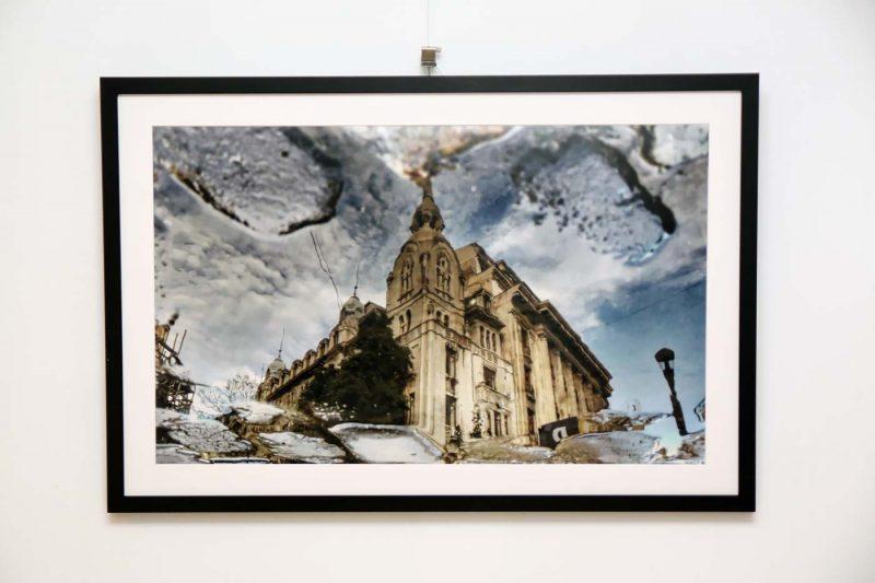 Gabriel T Balanescu, una dintre imaginile expuse.