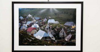 Sorin Vidis, una dintre imaginile expuse.