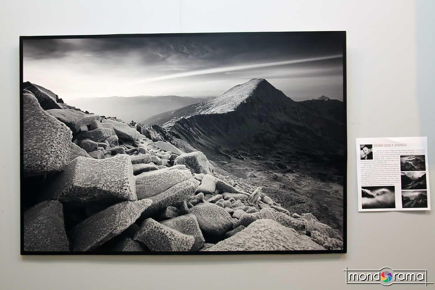 """Szabo Zsolt Andras: """"Peisaje monocrome"""", una dintre imaginile seriei."""