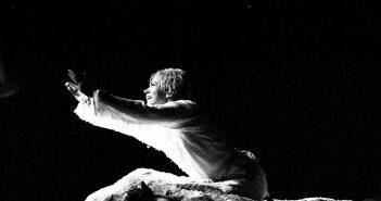 © Dorian Delureanu, Oana Pellea pe scena la Festivalul Shakespeare, Craiova, 1994