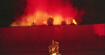 © Muni Pîrîianu, Festival Shakespeare (Titus Andronicus), Craiova, 1994