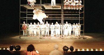 © Muni Pîrîianu, Festival Shakespeare (Ubu Rex), Craiova, 1994