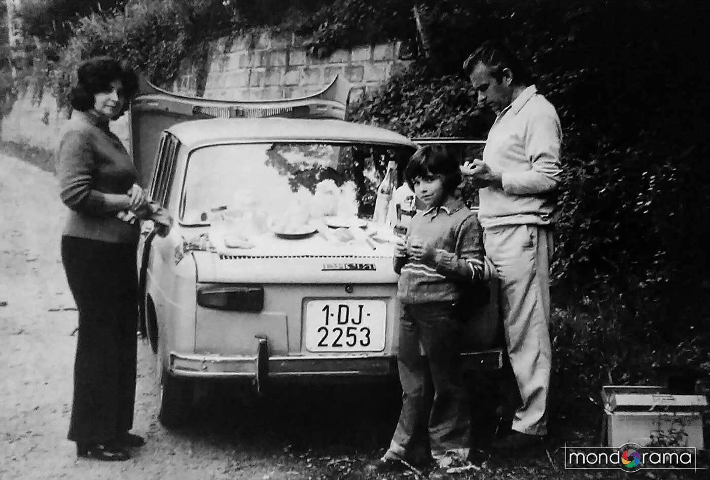 Familia Boldâr cu Dacia 1100