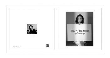 """""""The White Shirt"""" (coperta fata-spate)"""