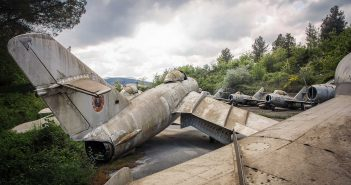 © Magda Stawowczyk, Fighters graveyard, abandoned military air base, Albania.