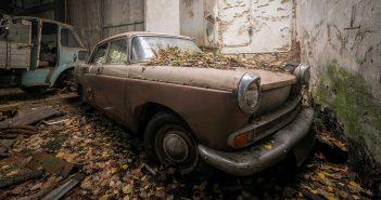 © Alek Sikora, Car graveyard, Austria.
