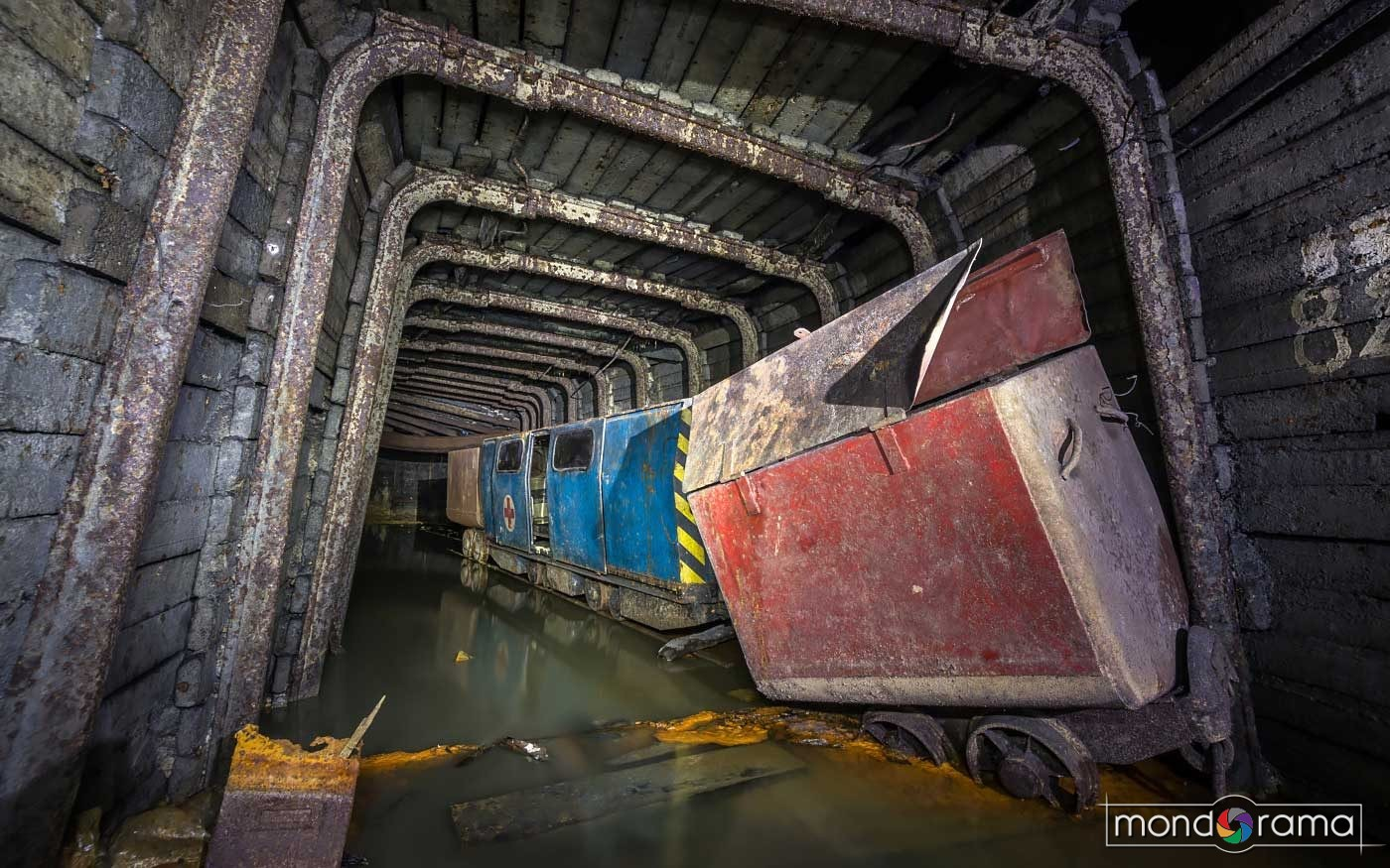 © Alek Sikora, Abandoned iron ore mine, Slovakia.