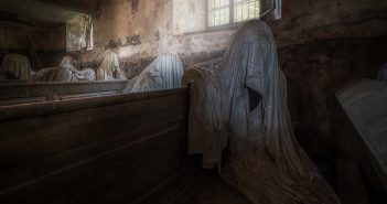 © Magda Stawowczyk, Ghost church, Czech Republic.