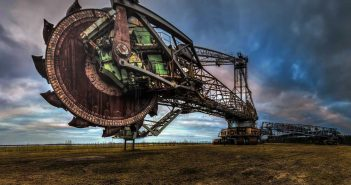 © Magda Stawowczyk, Abandoned bucket wheel excavator, Bagger no 258, Germany.
