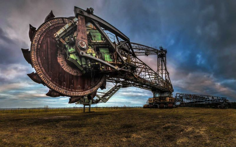 © Magda Stawowczyk, Abandoned bucket wheel excavator, Bagger no 258, Germany.