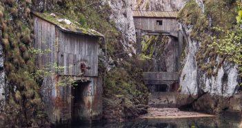 © Alek Sikora, Old water dam, Romania.