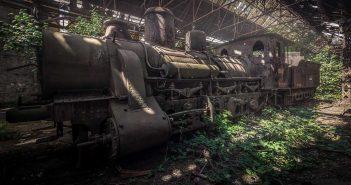 © Alek Sikora, Train cemetery, Hungary.