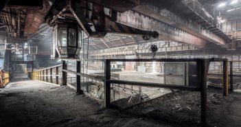 © Alek Sikora, Abandoned steel works, Czech Republic.