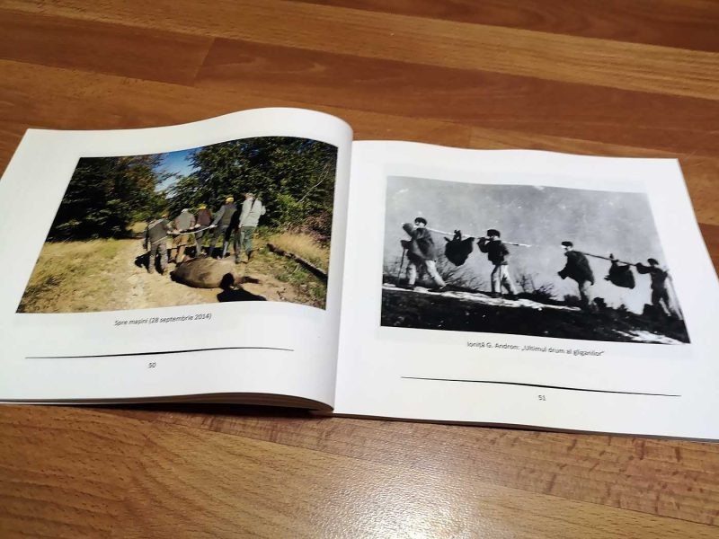 Romeo Komaromi - Chipuri si privelisti vanatoresti, pagini interioare.