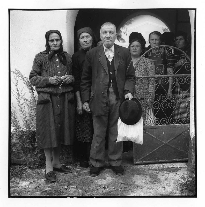 Ieșire de duminică, Miloșești, Ialomița, 2000 © Jean-Jacques Moles