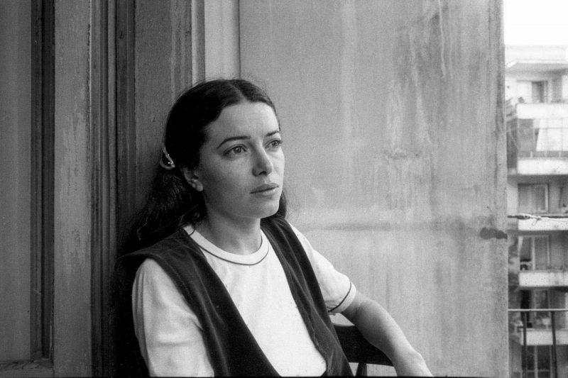 © Alfredo Padrón. Dora, soția lui Nichita Stănescu, cu care s-a căsătorit în iulie 1982.