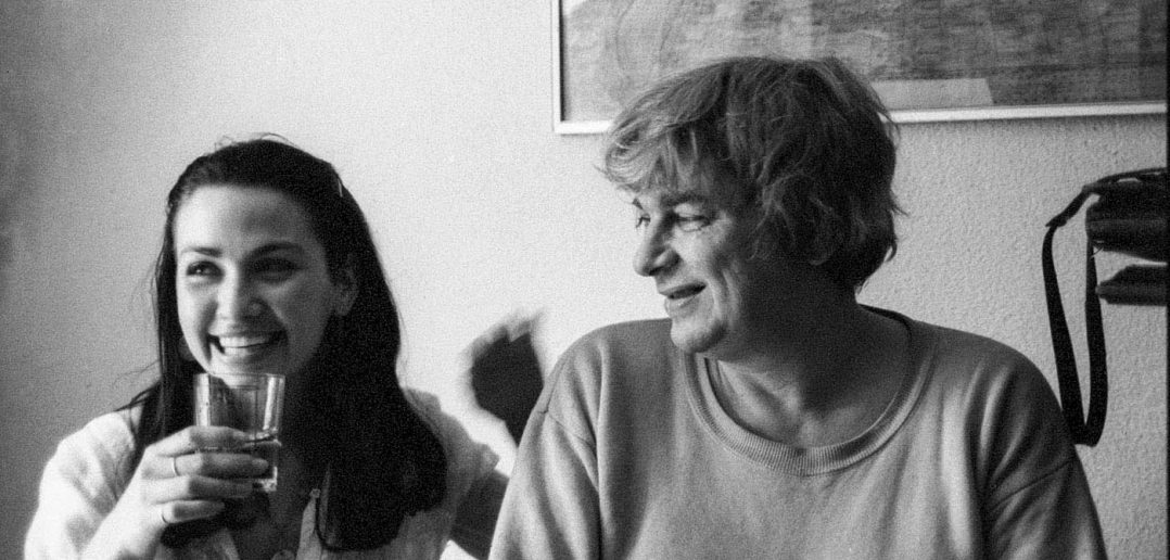 © Alfredo Padrón. Nichita Stănescu si Anca Szönyi, sora actriței Julieta Szönyi.