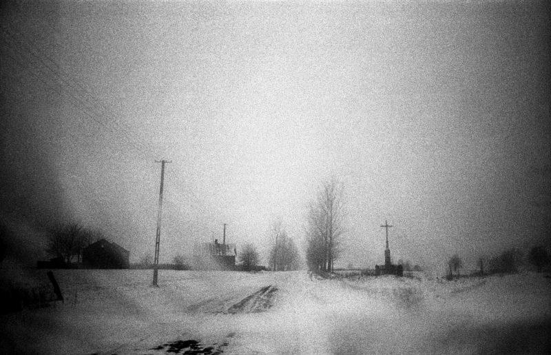 © Antonin Kratochvil, Frozen landscape, Poland, 1990.