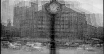 © Dan Moruzan - București: foto crochiuri, Ceas, Piața Romană.