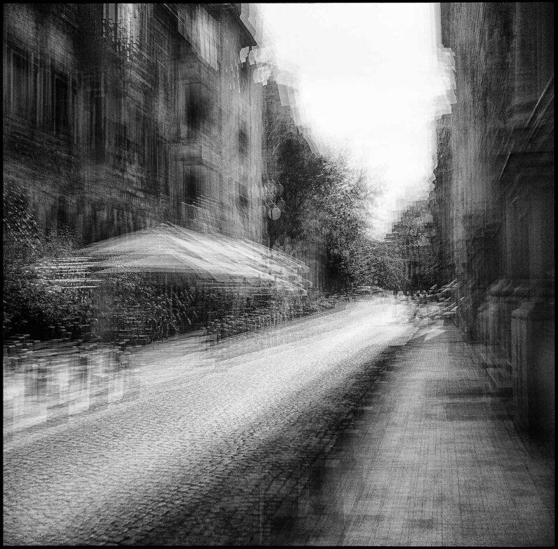 © Dan Moruzan - București: foto crochiuri, Bulevardul Nicolae Golescu.