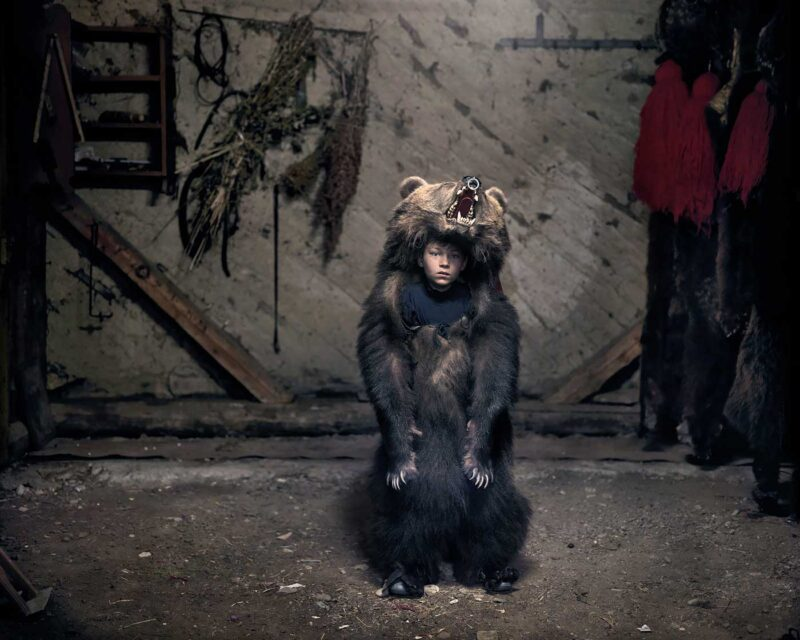 Ciprian, the bear dancer (Sălătruc), 2013 © Tamas Dezsö, Notes for an Epilogue