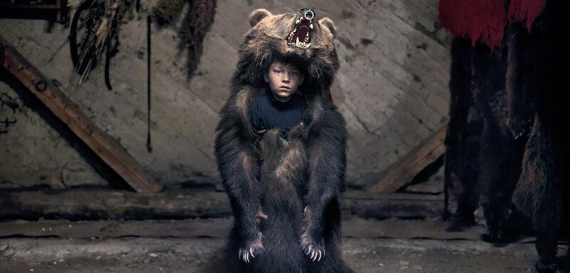 Ciprian, the bear dancer (Sălătruc), 2013 © Tamas Dezsö, Notes for an Epilogue