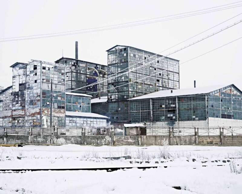Sodium factory (Ocna Mureș), 2012 © Tamas Dezsö, Notes for an Epilogue