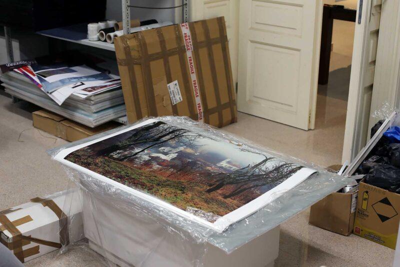 Printurile pentru ramele de 100 x 70cm. © mondorama